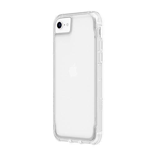 Griffin Technology Survivor GIP-002-CBK - Carcasa para Apple iPhone XR (Recubrimiento Resistente a arañazos, diseño Fino, Esquinas amortiguadoras, Compatible con Qi) Color Negro y Transparente
