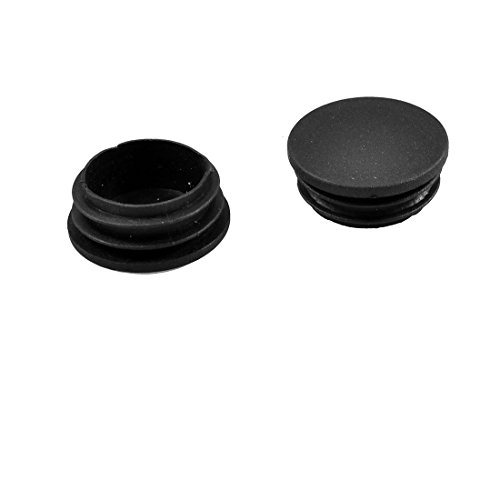Fly Shop Sedia Tavolo Gambe 38mm Diametro Tappo in plastica Rotondo a Coste Tubo Inserto 10pz