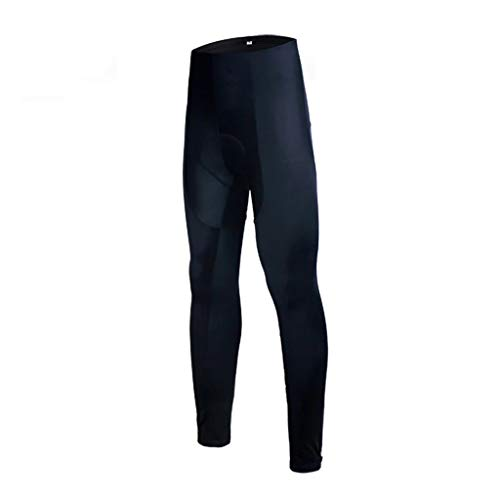 DIAOD Women Whole Black 3D Gel Padded Cycling Trousers 100% Lycra MTB Bike Cycling Pants Mountain Bicycle Tights (Size : Medium)