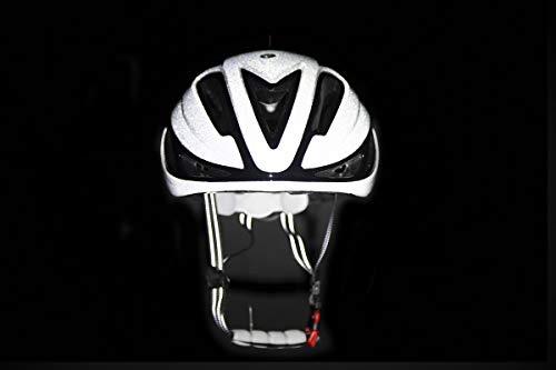CARNAC Cycling Helmet Ultra Hi-Vis Notus 2 Retroreflective Road Helmet