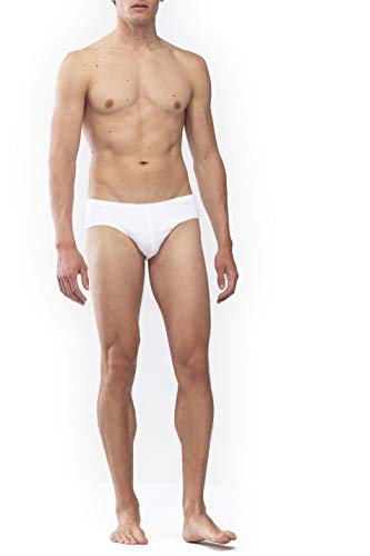Mey Basics Serie Noblesse Herren Jazz-Pants Weiß 6
