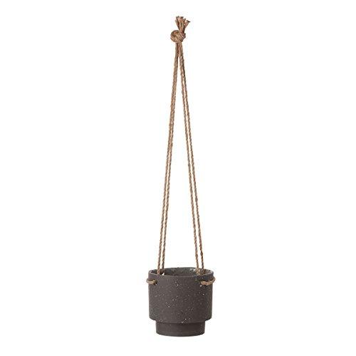 Ferm Living Plant Hanger Pflanzenhänger, Steinzeug, braun, Ø: 15 x H: 14.5 cm