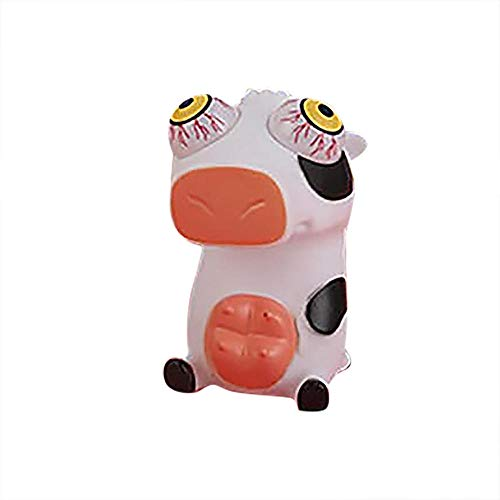 Ojos pato Squeeze Juguete Ocular Muñeca Bola de Ventilación Bola de Ventilación Descompresión Brillante Juguete Squeeze Eyeball Doll Juguete Luminoso para Niños Adultos - E