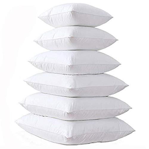 Terraberk Relleno Interior, Almohada Acolchada de algodón, núcleo de cojín Suave para - Pack: Los 55x55cm