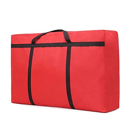 Demarkt Bolsa de almacenamiento resistente al agua para edredones, almohadas, mantas, almacenamiento, la mejor opción para mover en casa.
