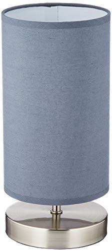 Brilliant AG 13247/22 Lampe à poser, Métal, E14, 40 W, Gris