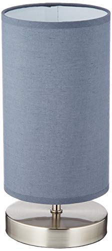 Brilliant AG 13247/22lámpara de mesa metal/Textil 40W E14gris