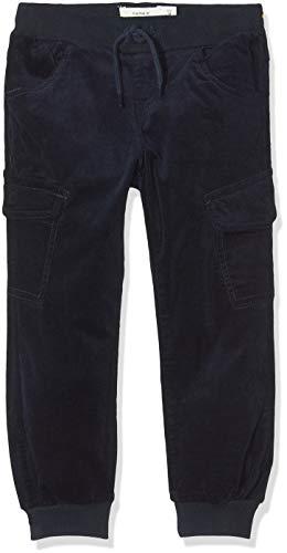 NAME IT Baby-Jungen NMMBOB CORDBAD Cargo Pant BP Hose, Blau (Dark Sapphire Dark Sapphire), (Herstellergröße:98)