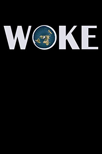 "Woke: 100 Page Blank Ruled Lined Writing Journal - 6"" x 9"