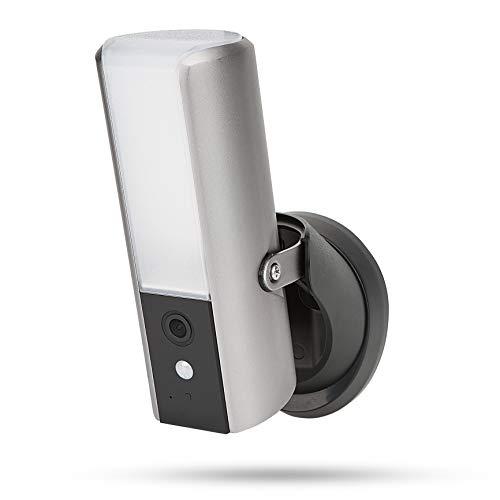 Intelligente Au?enlampe von SecuFirst mit ?berwachungs Kamera, Wlan, Full HD, Bewegungserkennung (Digital und PIR Sensor), Energieeffizient, Dimbar, Audio, Micro SD-Steckplatz, kein Versteckten Kosten