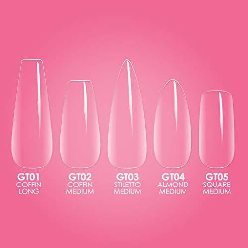 Kiara Sky Gelly Tips Starter Kit NEW (Long Coffin)