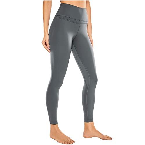 QTJY Pantalones de Yoga de Bolsillo para Mujer, Cintura Alta, Caderas, Mallas de Abdomen, Ejercicios de flexión, Pantalones Deportivos para Celulitis C XL