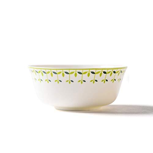 Jkckha Tazón, hogar creativo tazón de cerámica sopera vajilla