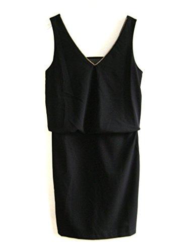 Vivance Collection Cocktailkleid Kleid Trägerkleid Gr 34 36 38 40 42 schwarz (42)