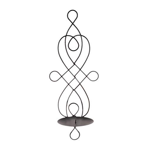 Koehope Kandelaar, metaal, ijzer, hangen, wandlamp, kandelaar, wooncultuur, ornamenten