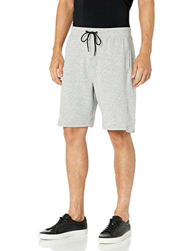 Jockey Men's Pointguard Terry Short, Light Grey Heather, Large