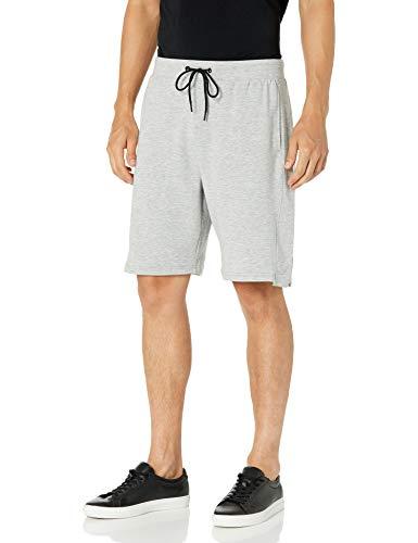 Jockey Pointguard Terry Short Pantalones Cortos, Gris Brezo, 38 para Hombre