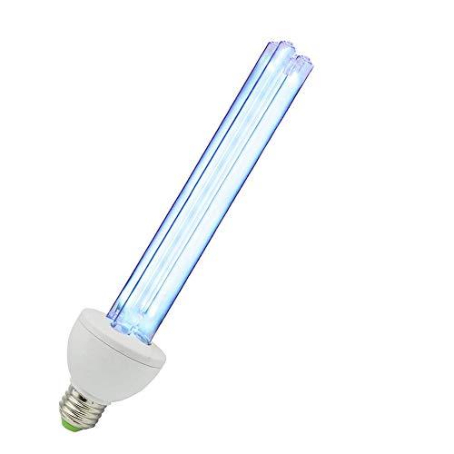 UV-C Quartz Light Bulb with Ozone 25w UV-C Lamp 110 Volt E26/E27 Remove Odor Cleans Air