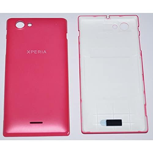 Sony Xperia J ST26i Akkudeckel, Battery Cover, pink