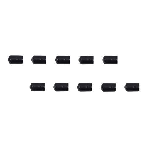 BESPORTBLE 10 Piezas de Cabeza Ancha de Goma Puntas Reemplazo de Tiro con Arco Cabeza de Objetivo para Deportes de 8Mm