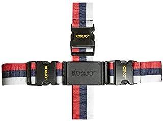 Korjo Luggage Strap, 4.5 Centimeters, Red/White/Black