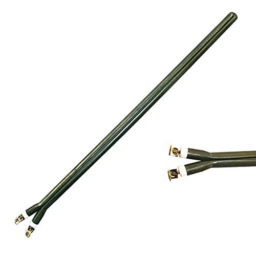Resistencia termo eléctrico 1200W, tipo pinza monoblock, recambio compatible y válido para grandes marcas principales de calentadores eléctricos del mercado. Largo 410mm. (1200W)