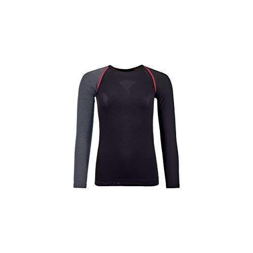 ORTOVOX Womens 120 Comp Light Undershirt, Black Raven, M