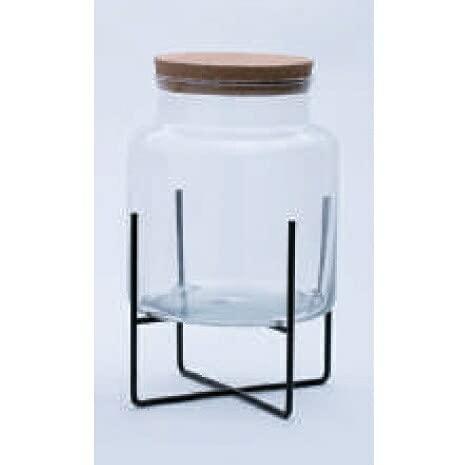 園芸 インテリア ポット スポットライト テラリウム 20 C glass ware(1個)29005s [p177] スタンド16K付き (代引き不可) ガーデン 花・観葉植物用 FARM