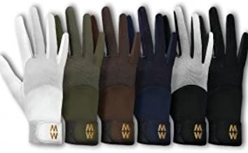 MacWet Climatec Long Cuff unique fabric grips fast while wicking moisture out. choose from colours black or brown and range of sizes