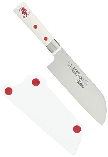 サンクラフト包丁大左きき用カバー付き日本製子どものための調理道具台所育児DI-55