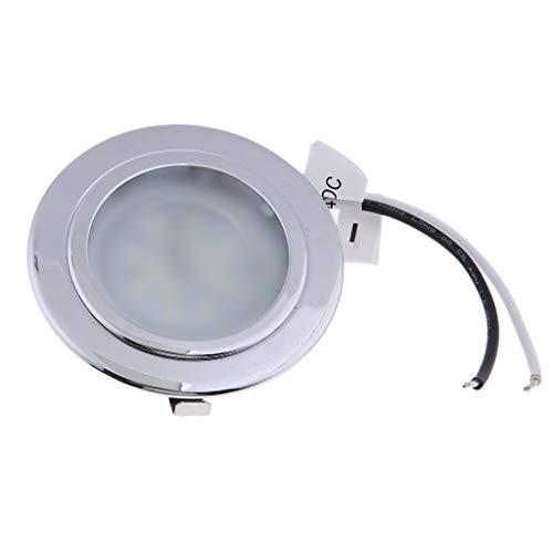 P Prettyia 24V 2.5W LED 2.75'Panel de Luz Empotrado en El Techo Luz 6000k