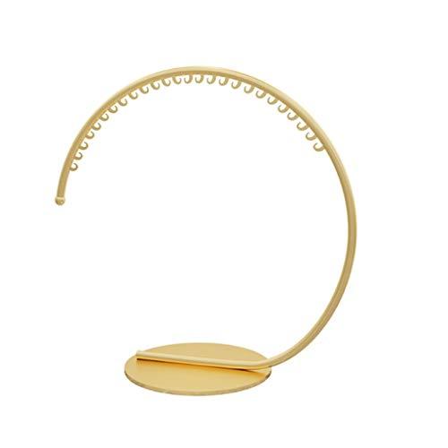 MQH Perchero Gold Iron Coat Rack Stand Soporte Colgando Ropa Perchero Interior Simple Simple Style Coat Rack para Dormitorio Perchero de Pie (Color : Gold, tamaño : 120 * 130cm)