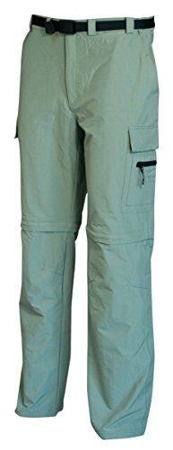 DEPROC-Active Pantalon d'extérieur élastique Kentville zippé pour Homme 58 Schilf