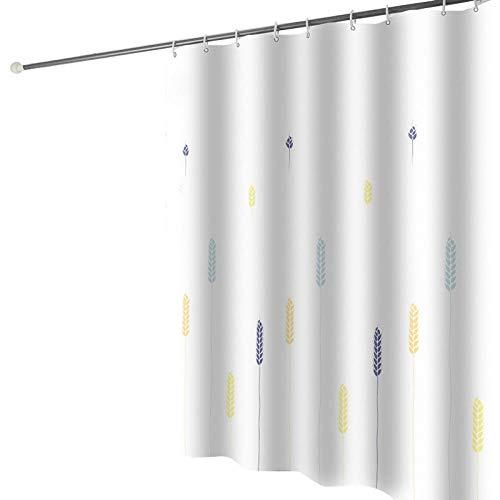 CCTYJ Cortina de la Ducha,Espesamiento Impermeable Madroir baño Cortina Moderna Simple Hotel baño cortina-240 Ancho x200 Alto cm