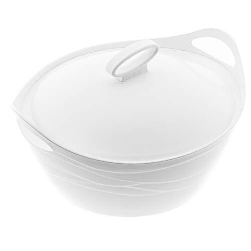 BEM Thermoschüsseln mit Deckel Einzeln erhältlich | Warmhaltebehälter Essen Thermobehälter für Essen Thermos Essensbehälter Thermobox für Essen Suppen Thermosbehälter Schüssel 5L,3,5L, 2,5L