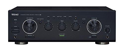 TEAC A-R630MK2 stereo volledige versterker (90 W per kanaal, 7 audio-ingangen incl. Phono ingang, klankregelaar, TAPE2-monitorfunctie) zwart