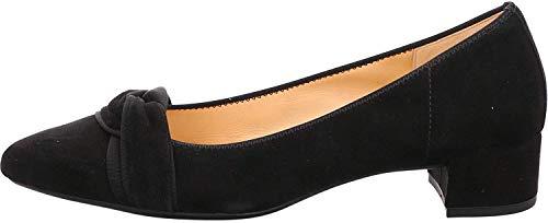 Gabor Damen Pumps, Frauen Klassische Pumps, geschäftlich büro Court-Shoes Absatzschuhe Abendschuhe stöckelschuhe Damen Lady,schwarz,38.5 EU / 5.5 UK