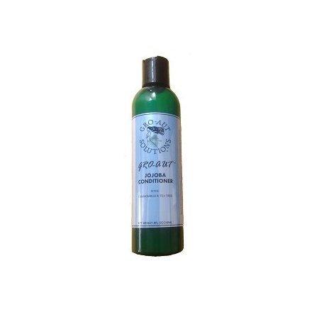 Gro-aut Jojoba Conditioner 226,8 gram pour cheveux rapide Croissance réduit la rupture Encourage la croissance Fortifie et Répare 240 ml