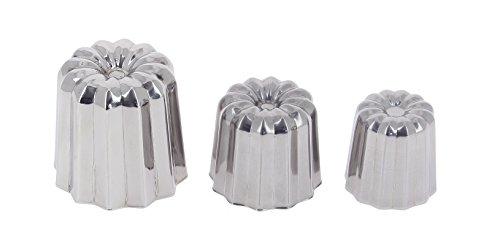 DE BUYER -3065.35 -mini cannele bordelais inox ø3.5cm