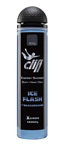 Cliff Energy Shower Ice Flasch, 6er Pack (6 X 300 Ml)