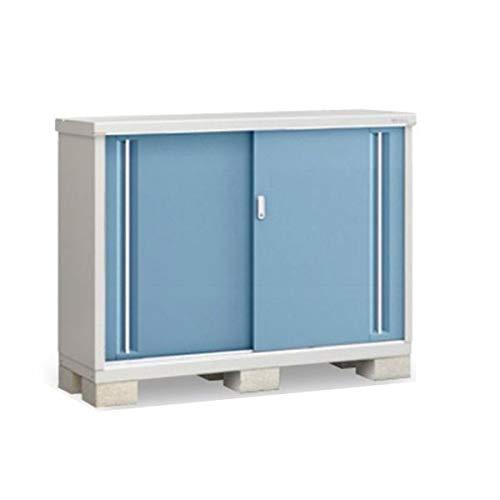イナバ物置 MJX/シンプリー MJX-155BP 長もの収納タイプ 『屋外用収納庫 DIY向け 小型 物置』 AB(アクアブルー)