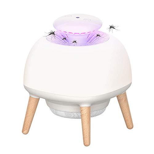 KIKIGO Uv-Licht Keine Strahlung Mückenlampe,Moskito-Killer-Lampe, Home USB-Moskito-Abwehr-Lampe, Innen Keine Strahlung Stiller Moskito-Killer, Moskito-Killer Nachtlicht