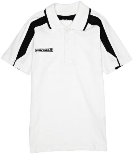 Prostar Magnetic Polo pour Enfant Blanc Blanc/Noir Small/26-28 inch