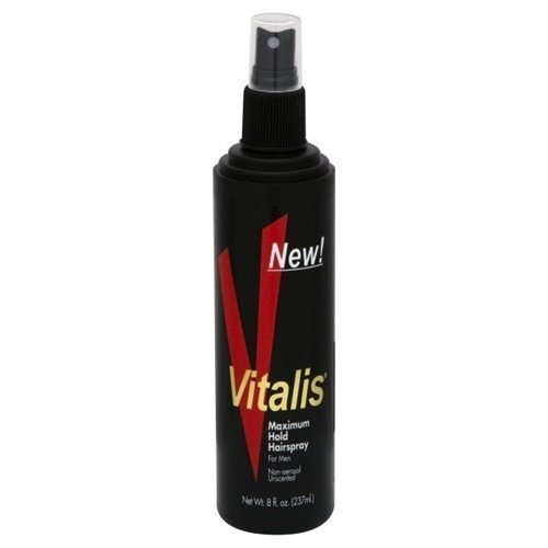 Price comparison product image Vitalis Hairspray Pump Maximum Hold 8 oz.