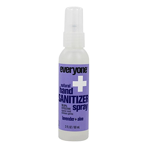 EO Products - Everyone Natural Hand Sanitizer Spray Lavender + Aloe - 2 fl. oz.