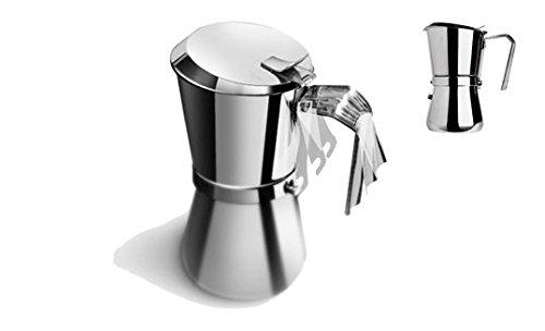 Giannini 101 Espressokocher, silber
