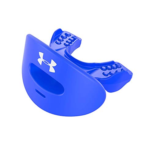 Under Armour Air Lip Guard / Mouth Guard for Football. Breathable & Comfortable. No Boil Required. Offers Lips and Teeth Protection. Youth & Adult Sizes. Includes Helmet Strap
