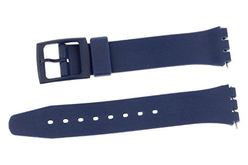 puregrey ricambio nastro nastro di plastica 17 mm per orologi Swt Blu con...