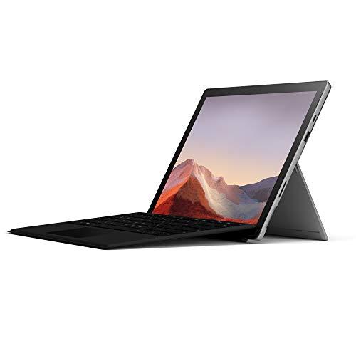 Microsoft Surface Pro 7, Core i5, RAM 8 GB, SSD 256 GB, Platinum + Tastiera Nera