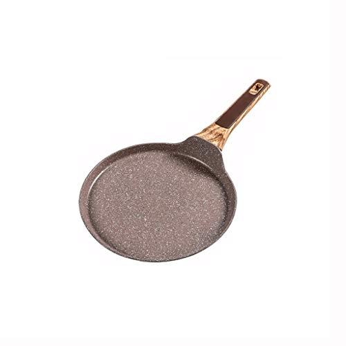 XXDTG Saucepan Stone Non-Stick Frying Pan Layer-Cake Cake Pancake Crepe Maker Flat Pan Griddle Breakfast Omelet Baking Pans